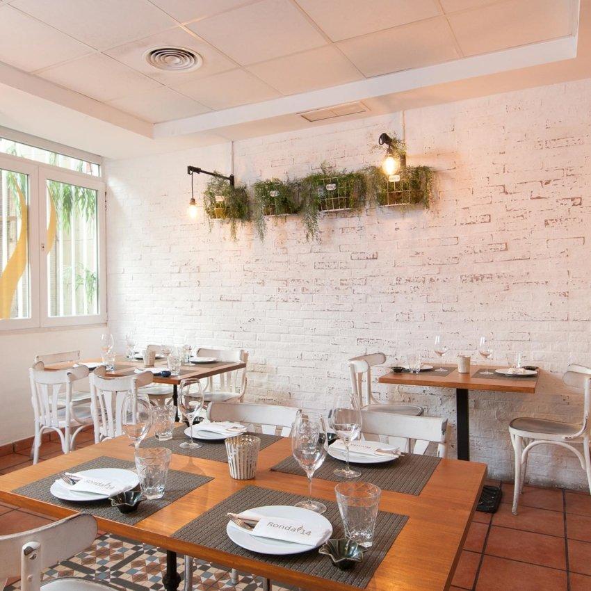 Comedor del restaurante Ronda 14 de Madrid
