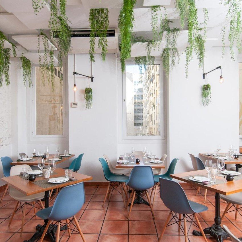 Sala del restaurante peruano Ronda 14 de Madrid