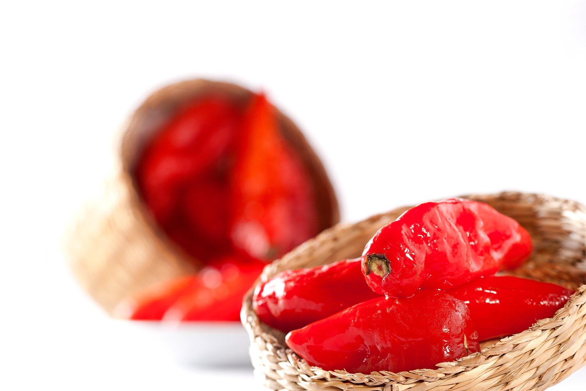Chiles rojos del restaurante Ronda 14