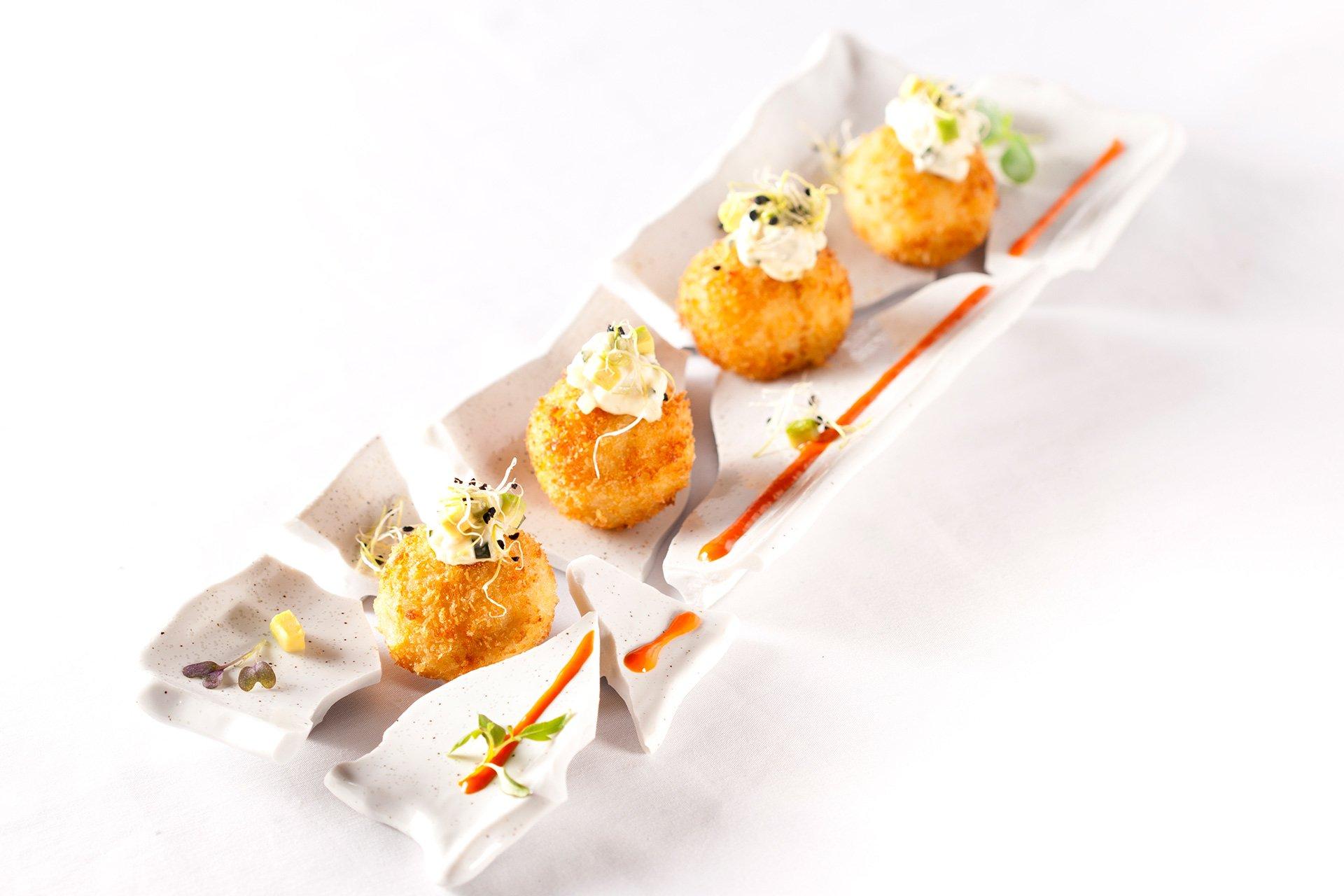 Croquetas de jamón del restaurante Ronda 14